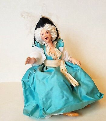 D/house Miniature James Carrington Flamboyant Period Lady 1/12th OOAK