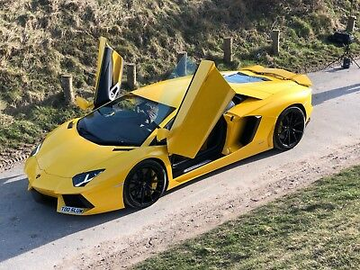 Lamborghini Aventador for sale - 64 plate with special Giallo Paint & full PFF