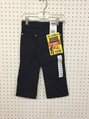 Wrangler~Children's Pro Rodeo TRUE Black Jeans~Size 2T Regular