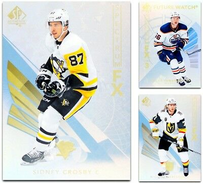 2017-18 SP Authentic Spectrum FX Unscratched **** PICK YOUR CARD **** From LIST