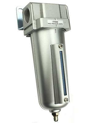 """3/4"""" Compressed Air In Line Moisture & Water Filter Trap F706 Compressor New"""