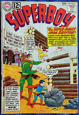 Superboy #95 - The Super-Family from Krypton! Imaginary Novel!