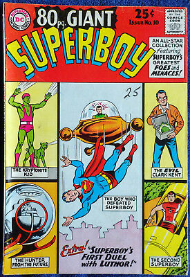80 Page Giant #10 - Superboy's Greatest Fes and Menaces!