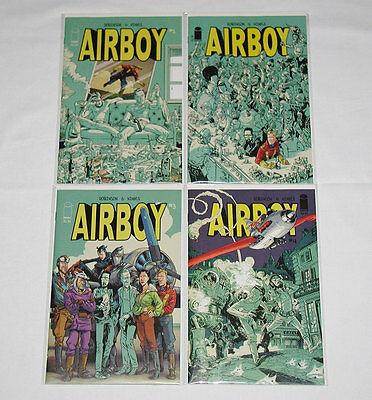 Airboy #1-4 Complete Set All 1st Prints (Lot of 4) Image Comics