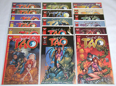 Spirit of the Tao #1-15 Complete Set + Preview + #1 Variant - Image (Lot of 17)
