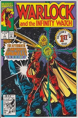 Warlock and the Infinity Watch #1 - HIGH GRADE - Infinity Gauntlet Aftermath!