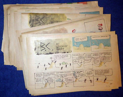 B.C. Sunday comic strips 1976 Complete - Johnny Hart