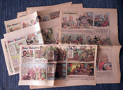 Prince Valiant 1977 11 Sunday comic strips - Hal Foster