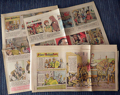 Prince Valiant 1975 30 Sunday comic strips - Hal Foster