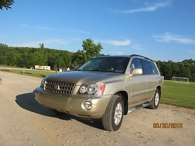 2001 Toyota Highlander Limited 2001 Toyota Highlander Limited SUV 3.0L V6 AWD