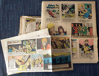 Prince Valiant 1974 35 Sunday comic strips - Hal Foster