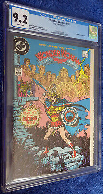 Wonder Woman #10 (1987) CGC 9.2 White pages - Beautiful George Perez cover!