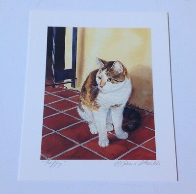 Drew Strouble cat print, TAFFY, Catmandrew, cat artist,