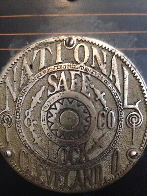 National Lock & Safe Antique Safe