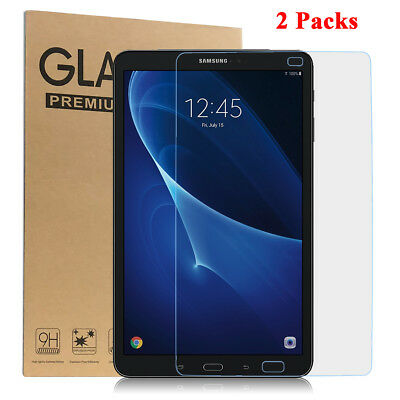 Tempered Glass Screen Protector for Samsung Galaxy Tab A 10.1 SM-T580 [2 Pack]