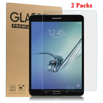 Tempered Glass Screen Protector for Samsung Galaxy Tab S2 8.0 SM-T710 [2 Pack]