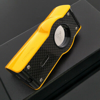 Lubinski Yellow Laser Touch Induction 4 Torch Jet Flame Lighter