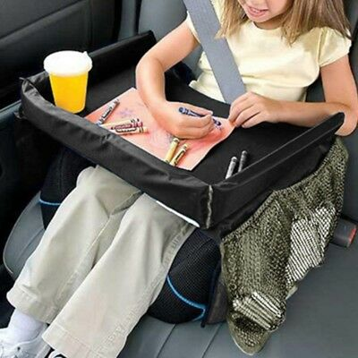 5Color Kids Portable Safety Car Seat Travel Snack Play Table Tray Drawing Board