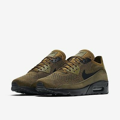 2299764941e Nike Air Max 90 Ultra 2.0 Flyknit Olive Green Shoes 875943-302 Men s Multi  Size