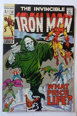 Iron Man 19 Silver Age 1969 NF Condition