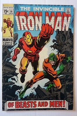 Iron Man 16 Silver Age 1969 NF Condition