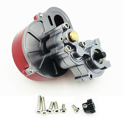 Transmission Gearbox with Motor Gear For 1/10 RC Car AXIAL SCX10 RC4WD Crawler