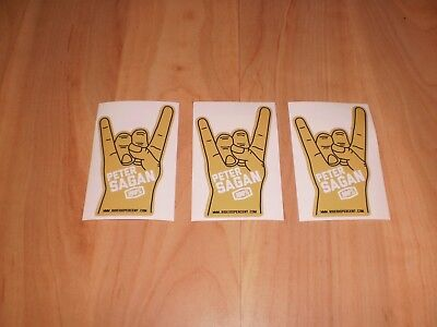 Peter Sagan Aufkleber Sticker Set Hang Loose Cycling  Neu !