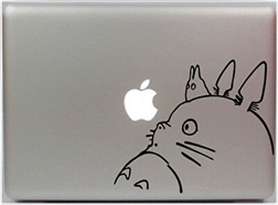 New Cute Totoro on a Branch Apple Macbook Removable Vinyl Sticker Decal