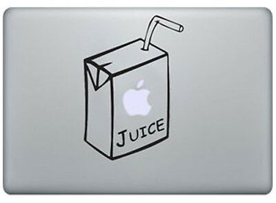 New Cool Juice Box Juicebox Apple Macbook Removable Vinyl Sticker Skin Decal