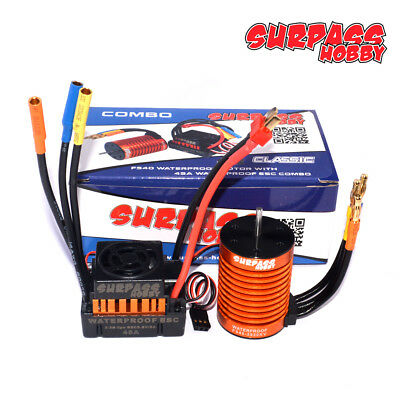 Set 3930KV F540 Brushless Motor +45A ESC Great für 1/10 RC Auto LKW Car DEW