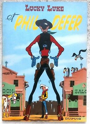 Lucky Luke 8 Phil Defer 1966 Neuf  Morris