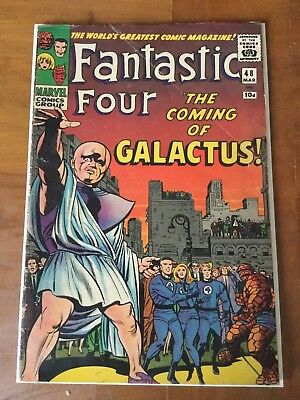 Marvel Fantastic Four 48 Original Comic