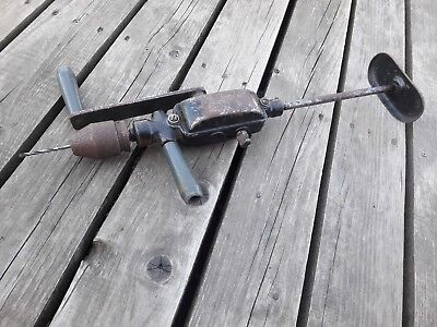 Rare Antique Original Vintage Soviet Union Hand Drill Made in USSR