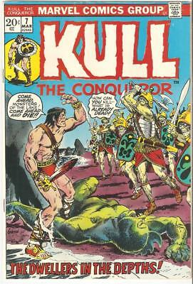 Kull the Conqueror #7 (Mar 1973, Marvel) FN-VF ONLY $1.50