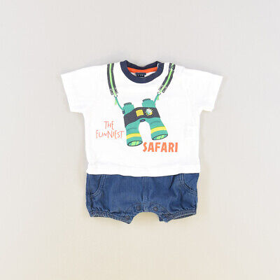 Pelele color Blanco marca Freestyle 3 Meses  510606