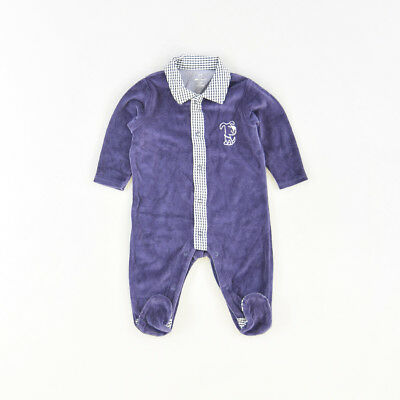 Pelele color Azul marca Early days 3 Meses  510799