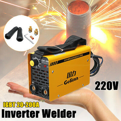 200Amp Welding Inverter Machine Portable Welder MMA/ARC ZX7-200 IGBT DC