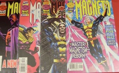 Magneto 1-4 Marvel Comic Set Complete X-Men Peter Milligan Kelly Jones 1996 Nm