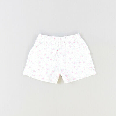 Shorts color Blanco marca Early days 6 Meses