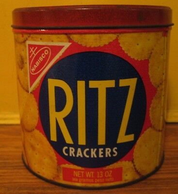 1977 Ritz Tin Crackers Us Up!