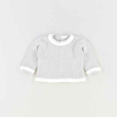Jersey color Gris marca Mebi Nature 6 Meses