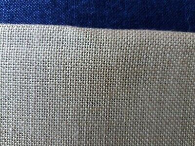 28 count dark biscuit embroidery fabric 50 x 51 cm