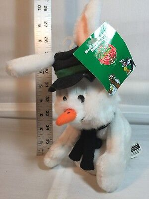 Warner Brothers studio Store Bugs Bunny snowman Bean bag toy - New with tags