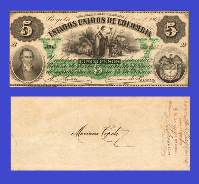 Reproduction Colombia 100 peso 1928 UNC