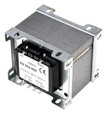 RS Pro 75VA 2 Output Chassis Mounting Transformer, 24V ac