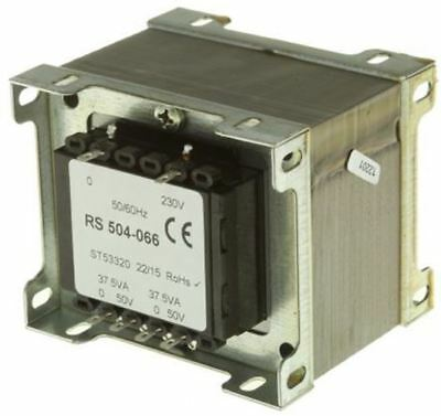 RS Pro 75VA 2 Output Chassis Mounting Transformer, 50V ac