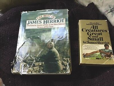 THE BEST OF JAMES HERRIOT by Reader's Dig Assoc(1982Hardcover) AND All Creatures