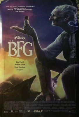 Disney's THE BFG Authentic 27x40 D/S Rolled Movie Poster.