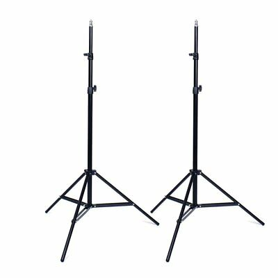 2x Pro Photo Photography Studio 2M Light Stand Tripod for Lighting Kit N D8L7