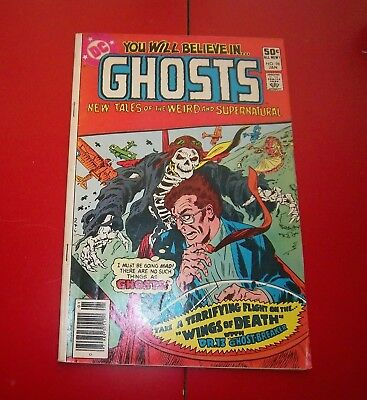 You will Believe in Ghosts #96 The Files of Dr. Geist  Fair Previously Read 1981